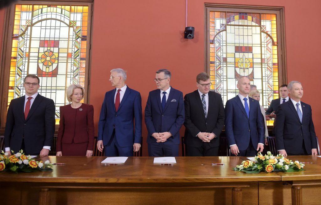 Latvia gets a new government led by Krišjānis Kariņš