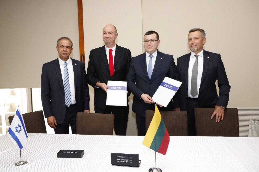 Lithuania and Israel begin cooperation in cyber security