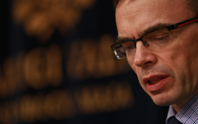 Minister of Foreign Affairs Sven Mikser