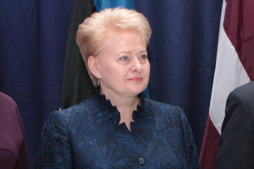 Lithuanian president to visit Slovakia, Austria