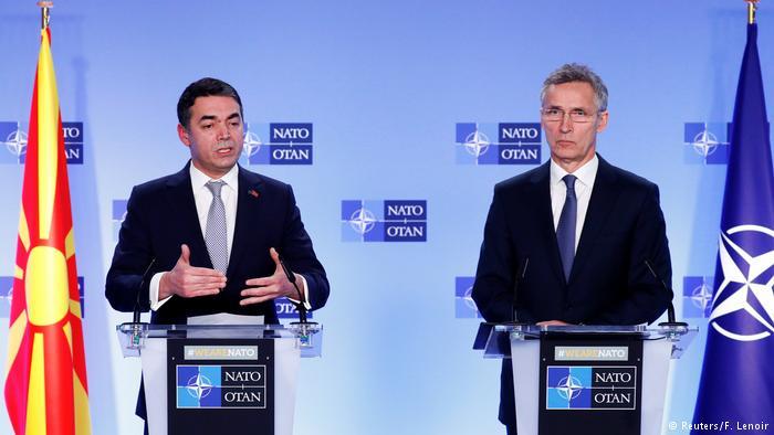 Macedonia signs accord to join NATO despite Russian misgivings