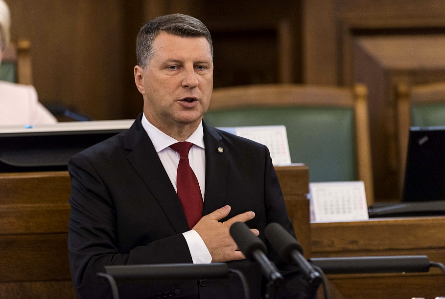 Raimonds Vejonis has met with Saeima faction heads to discuss his re-election