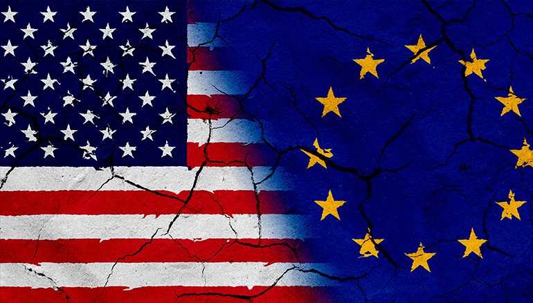 Relations between Europe and the US on the brink