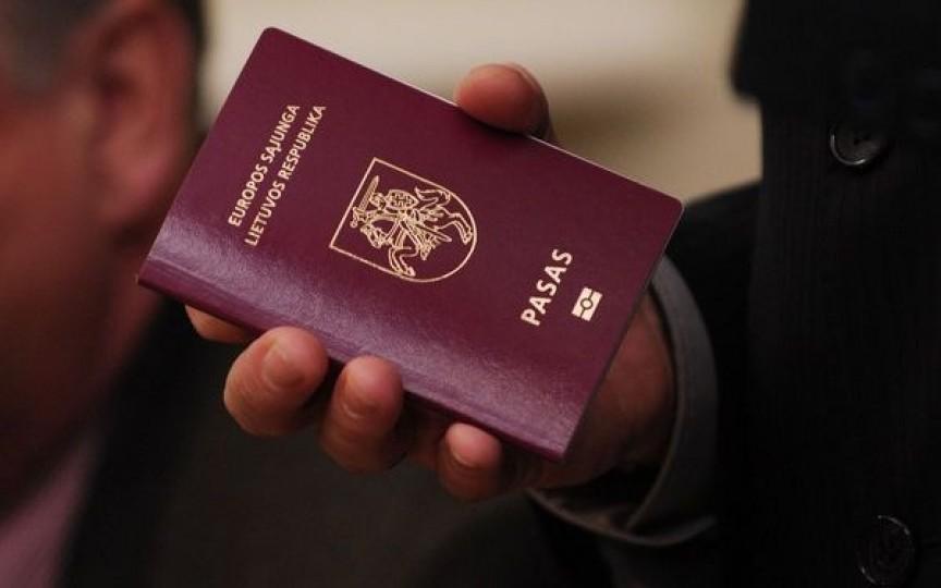 Lithuanian passports