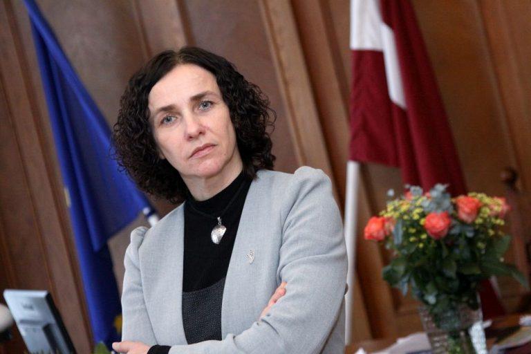 Science Minister Ilga Suplinska