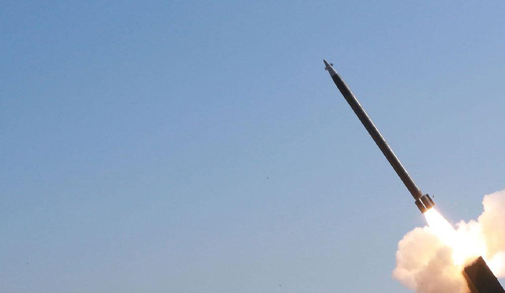 US intermediate-range ballistic missile