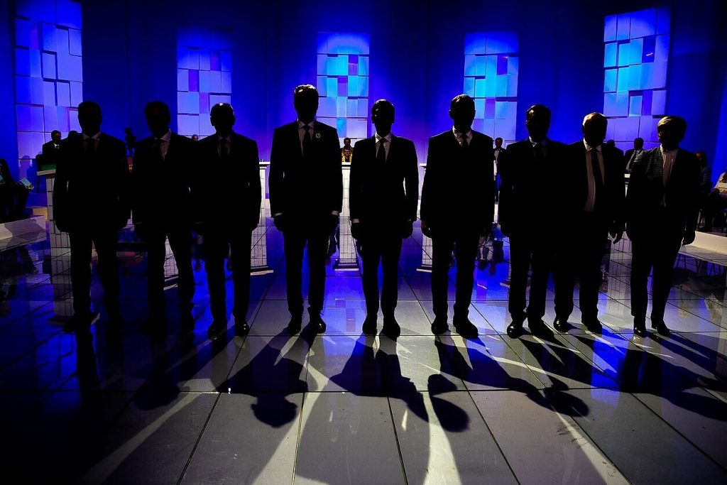 Lithuanian presidential debate: defence and security