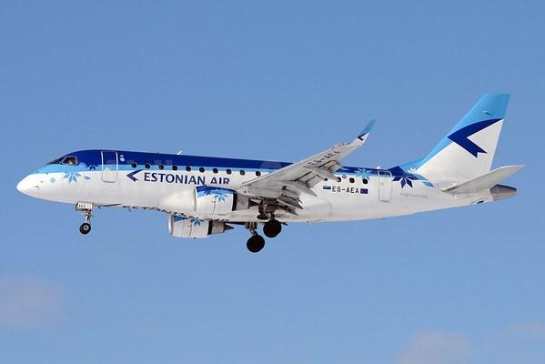 Estonian PM's plane