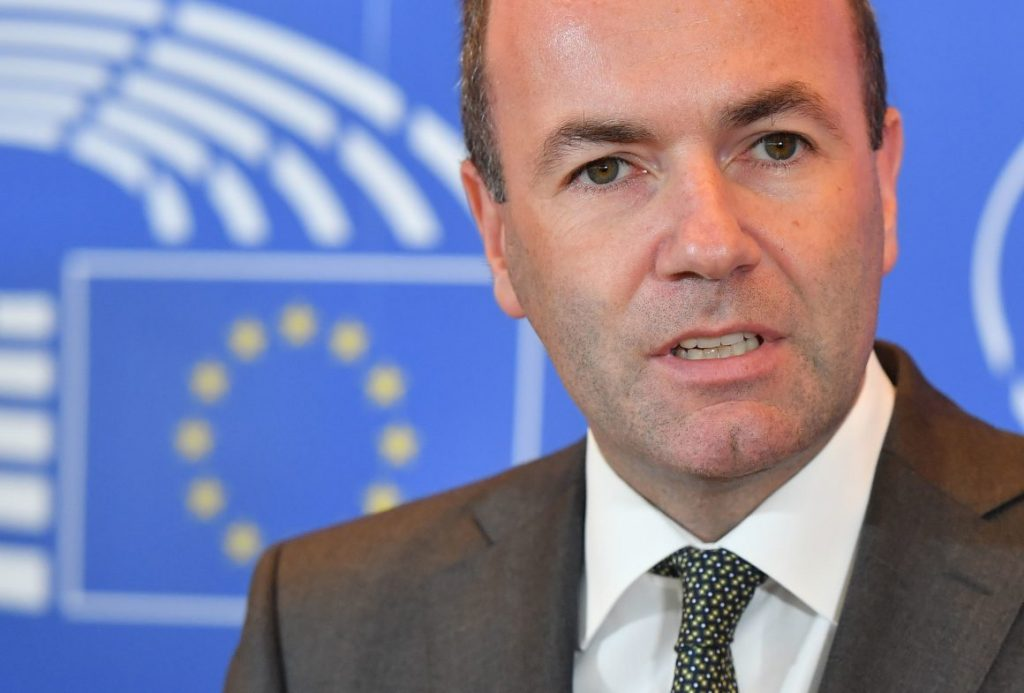 Center-right candidate for EU commission chief Weber visits Lithuania