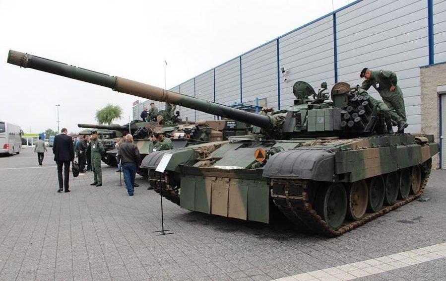 """""""Iron Spear"""" tank exercises"""