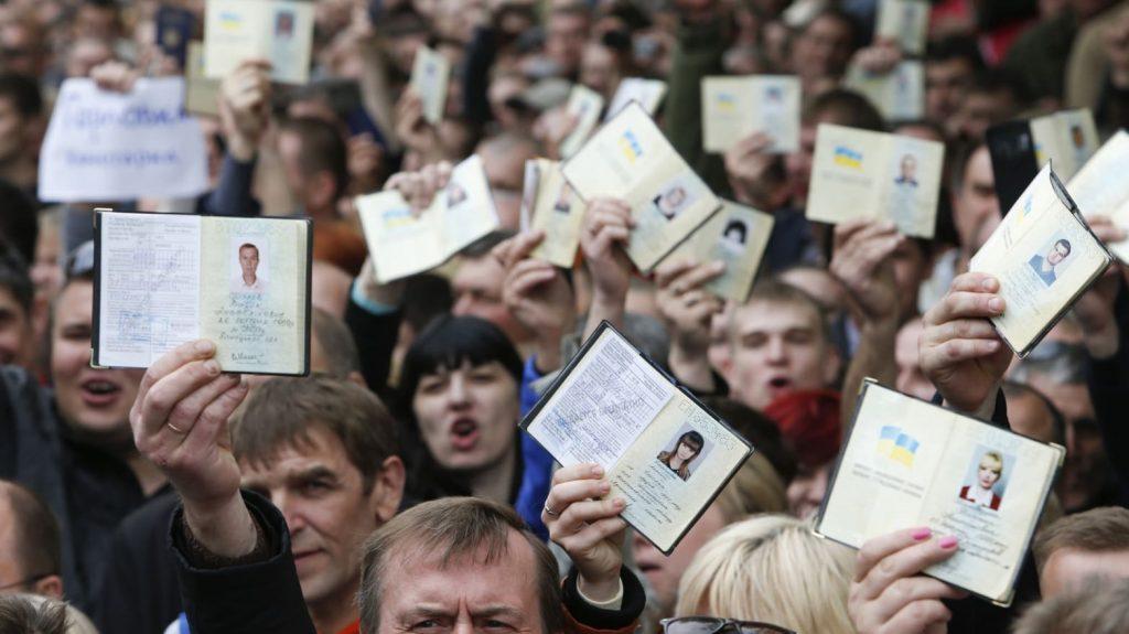 Putin speeds up Russia passport process for Ukraine's breakaway region