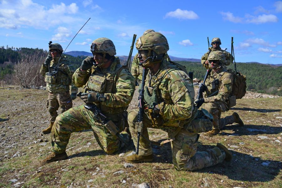 U.S. Army's contingency response force in Europe