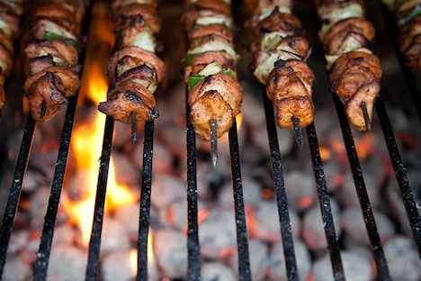 615 tonnes of grilled meat was consumed in Latvia last year