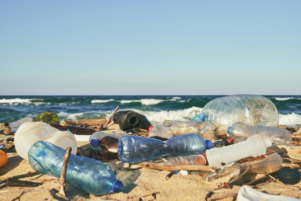plastic products generally found on European beaches