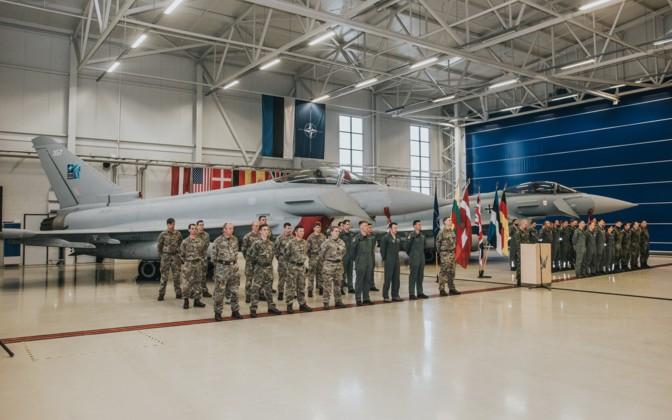 RAF jets arrive at Ämari air base