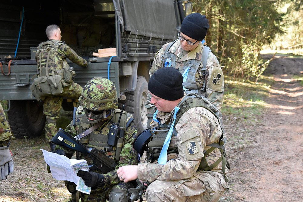 Spring Storm sees first ever joint Estonian-US Military Police exercise
