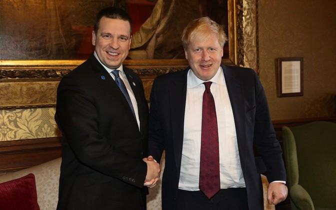 Estonian PM Jüri Ratas to meet with Boris Johnson