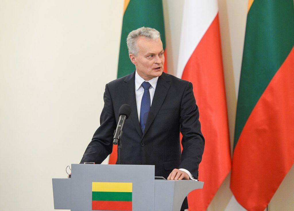 Lithuanian President Gitanas Nausėda