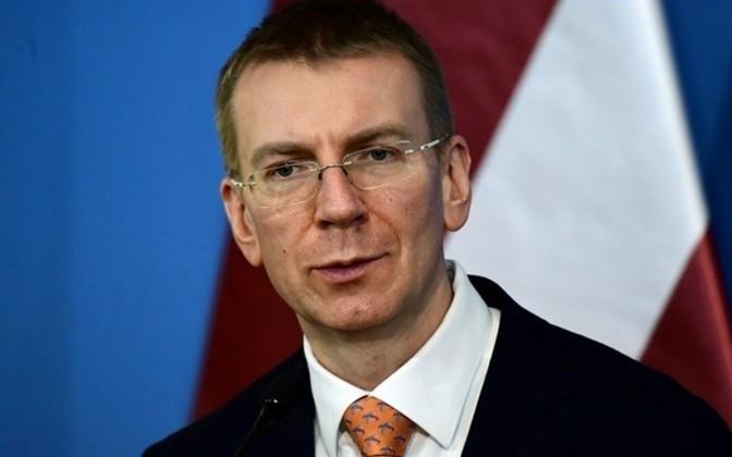 Latvian Foreign Minister Edgars Rinkēvičs