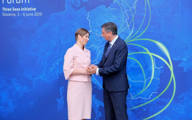 President Kaljulaid in two-day official visit to Slovenia