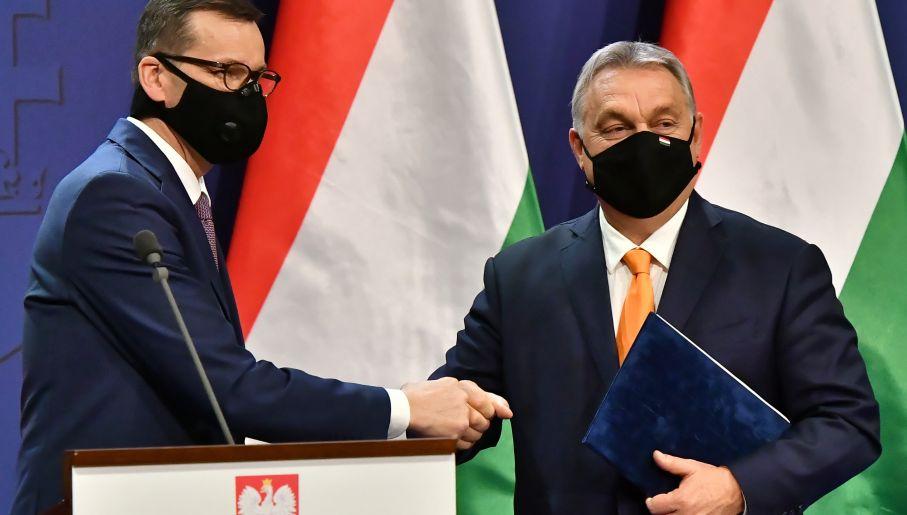 Polish and Hungarian governments' veto
