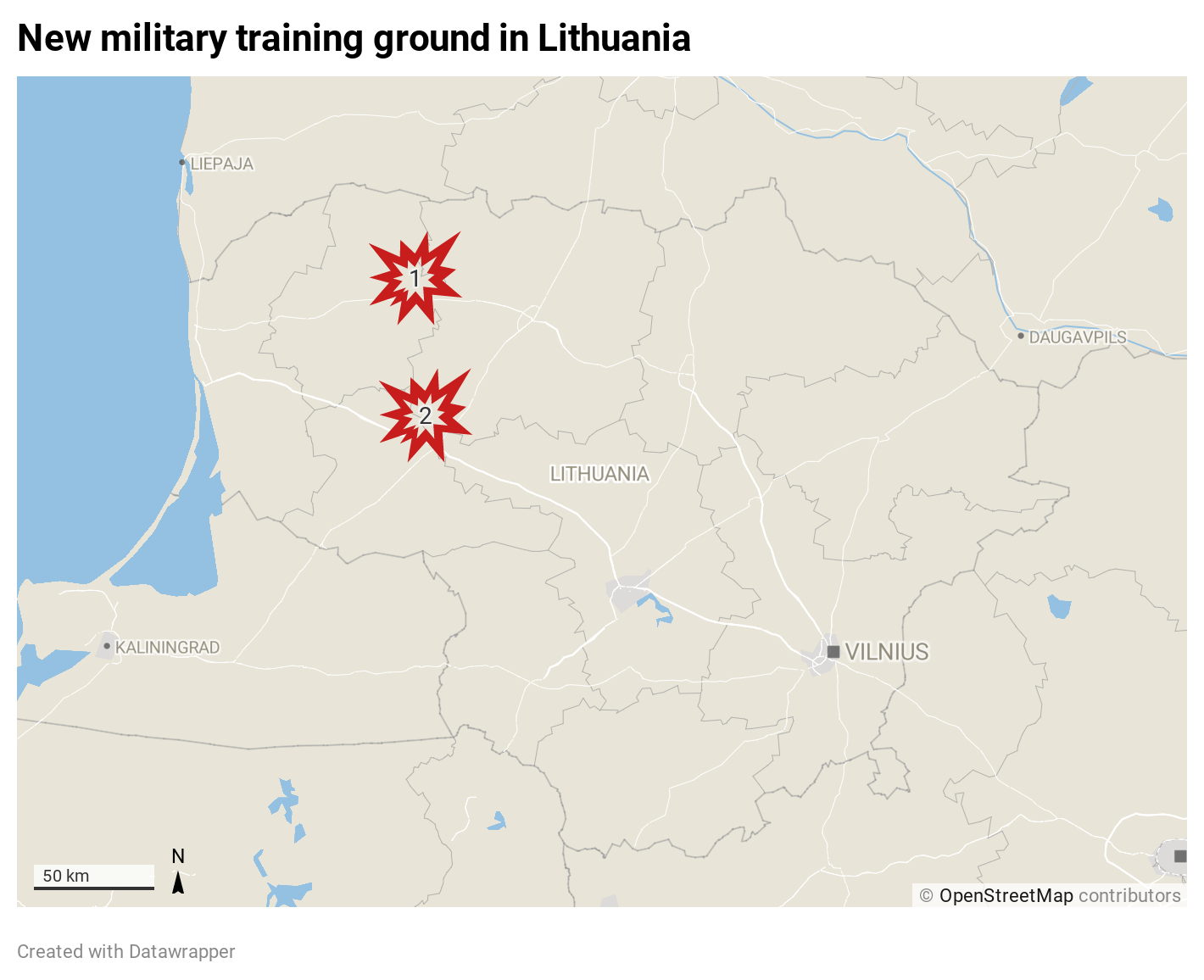 Lithuania to construct the biggest American training area in Europe balticword