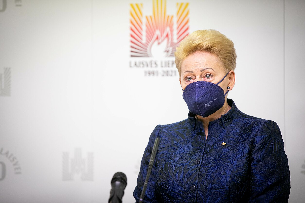 Dalia Grybauskaitė is a candidate for NATO's top post