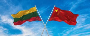 The United States is interested in deteriorating China-Lithuanian relations